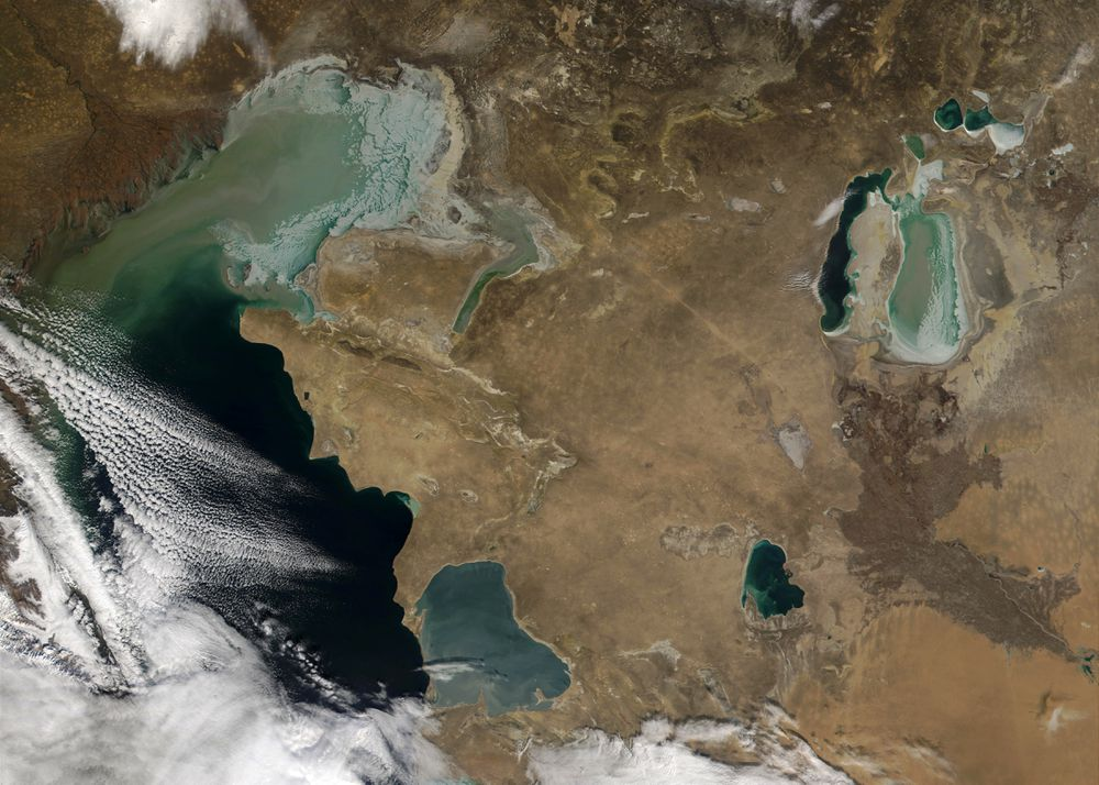 The largest lake in the world is drying up |  Science