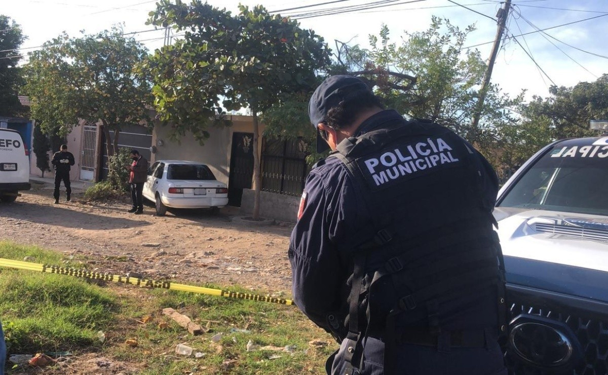 They shot a young man in Adolfo López Mateos, Culiacán