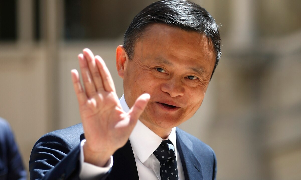 Where is Jack Ma, the richest man in China?