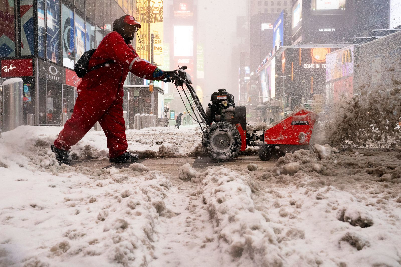 Severe winter storms cover the Northeast, with more snow expected on Tuesday
