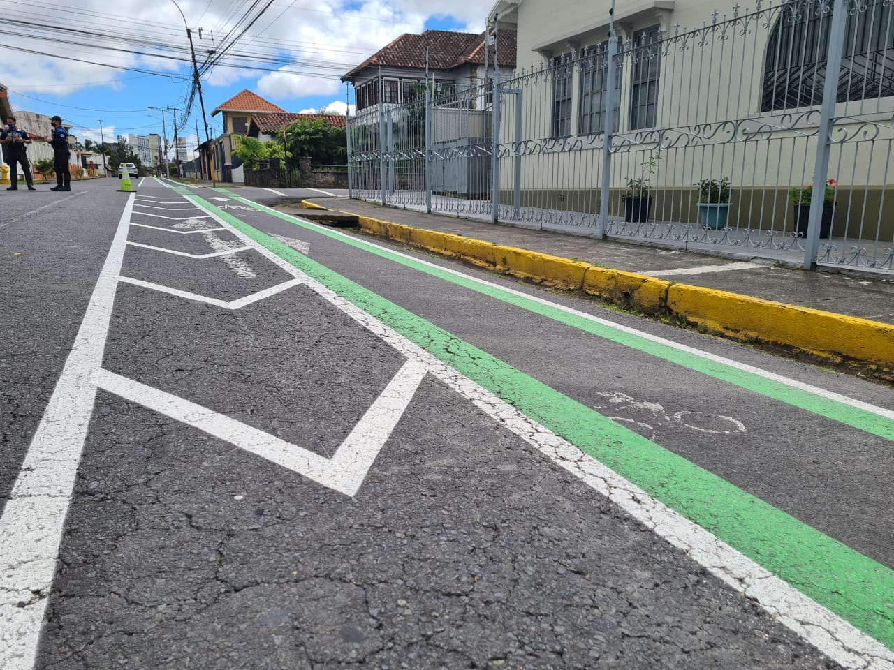 Cyclists will have space to commute between the cantons of Montes de Oca and Curridabat