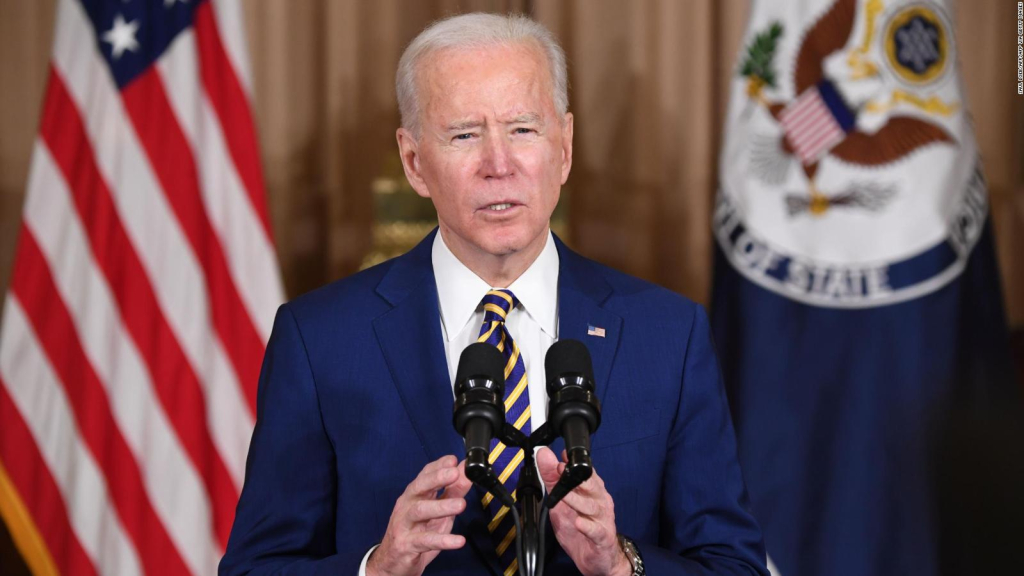 """Biden: """"The poisoning of citizens must be ended"""""""