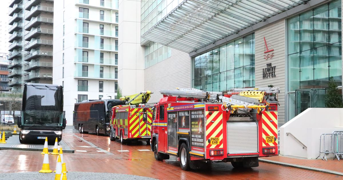 Calling fire trucks to the Man United Hotel before the Everton match