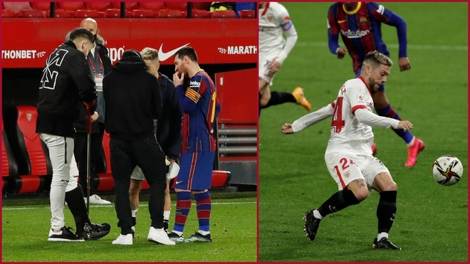 Sevilla: What did Messi and Sevilla's Argentines talk about?