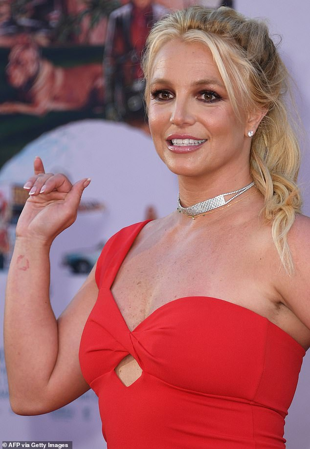 Be nice: The 29-year-old posted a quote that seemed to be about Britney, 39: