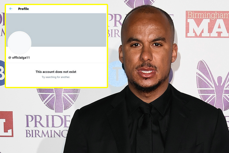 Agbonlahor deleted his Twitter account because it was leading a campaign to boycott him