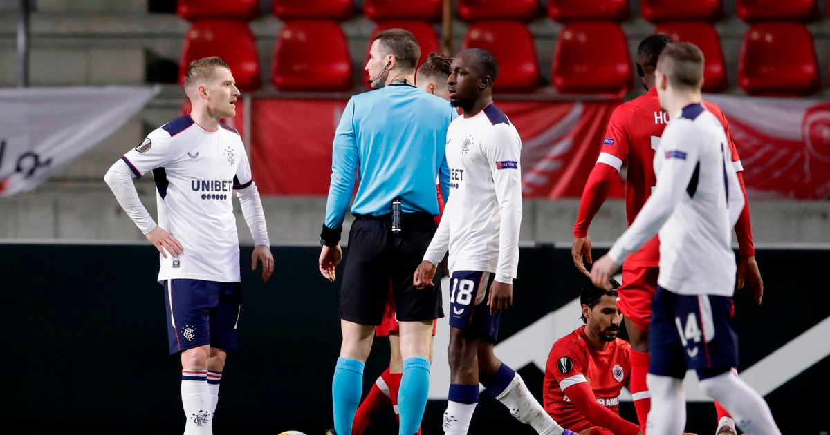 "Rangers' controversial decision made the video assistant ruling clear that critics had criticized Antwerp's ""scandalous"" punishment."