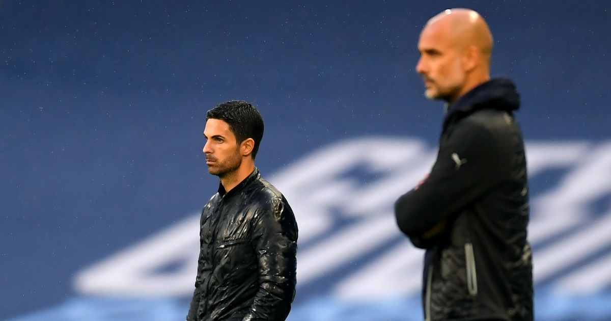 Mikel Arteta, Arsenal's coach, offers two reasons why Manchester City are the best team in Europe