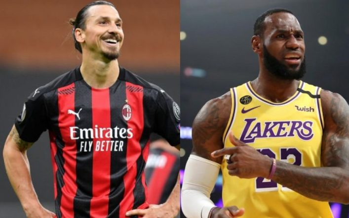 "Zlatan, strong against LeBron James: ""It's phenomenal, but he's dedicated to basketball, he's silent when he talks about politics."""