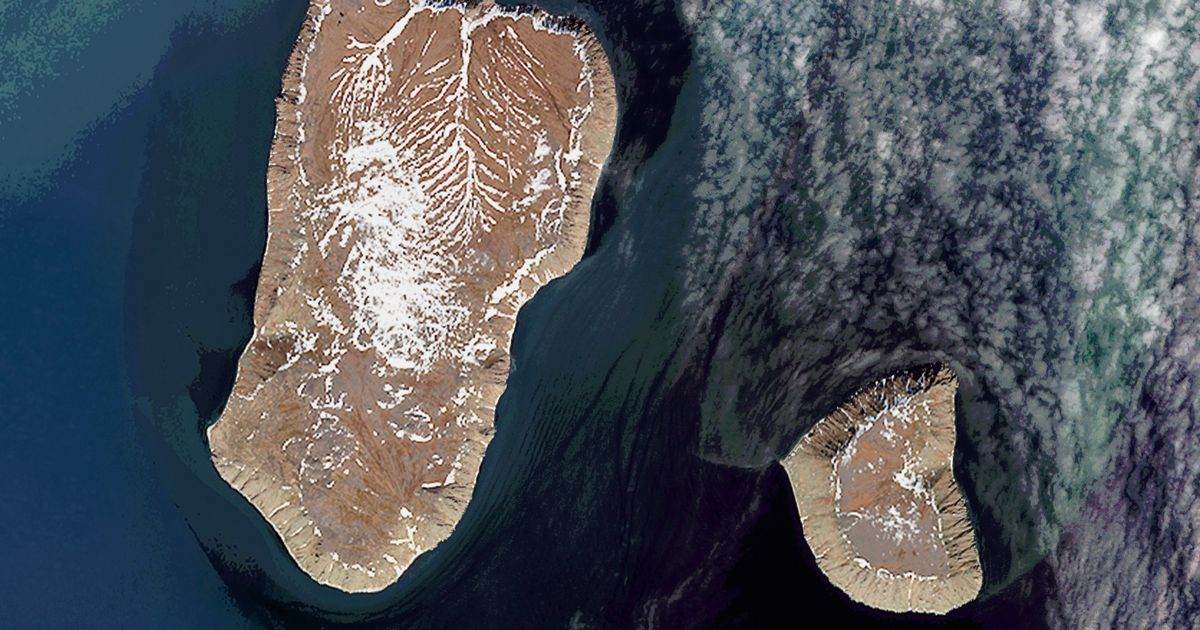 The islands are only three miles away separated by a 21-hour time difference – world news