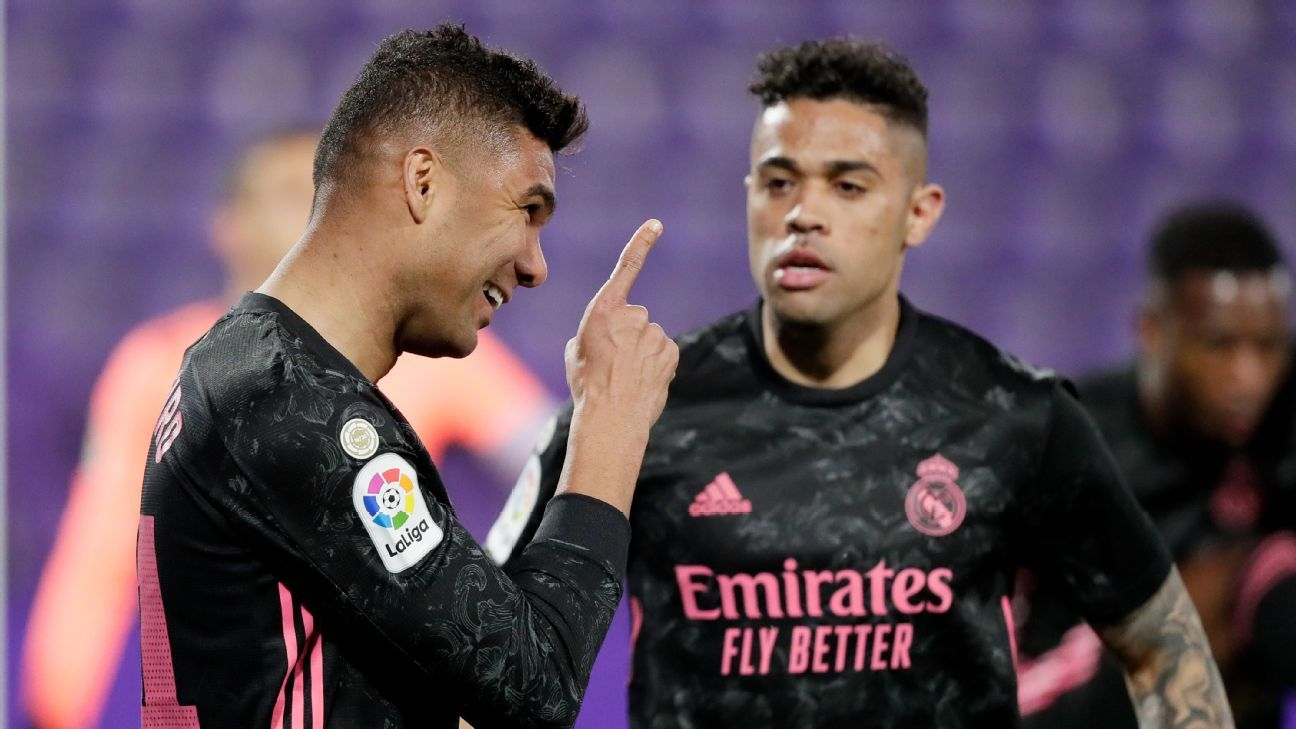 Against the real Valladolid.  Real Madrid – Sports Report – February 20, 2021