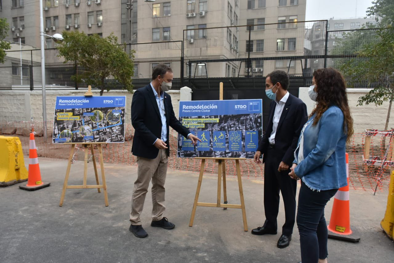 Centro Paseo Cívico: The space that will turn the Alameda's southern sector into a smart city
