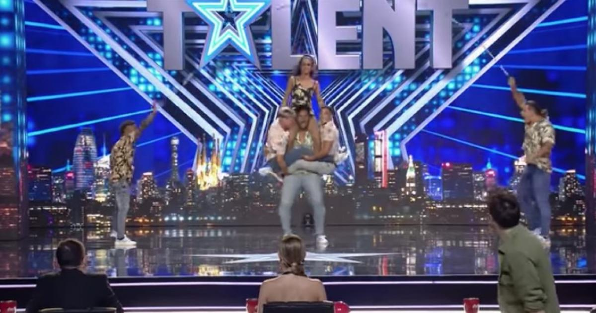 "Cubans light up Got Talent Spain with a grave number to the beat of ""La mujer del pelotero"" by Baby Lores"