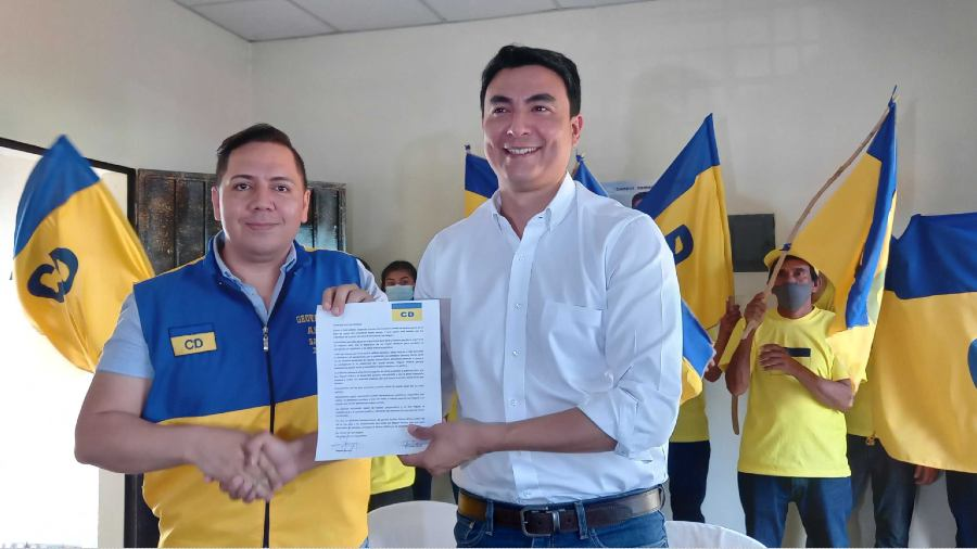 Democratic Change Candidate for San Miguel Mayor declares support for Miguel Pereira |  News from El Salvador