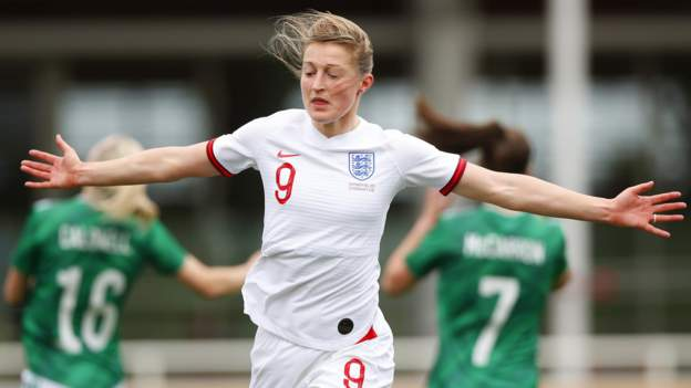 England 6-0 Northern Ireland: Eileen White hat-trick in Hage Rise's first game