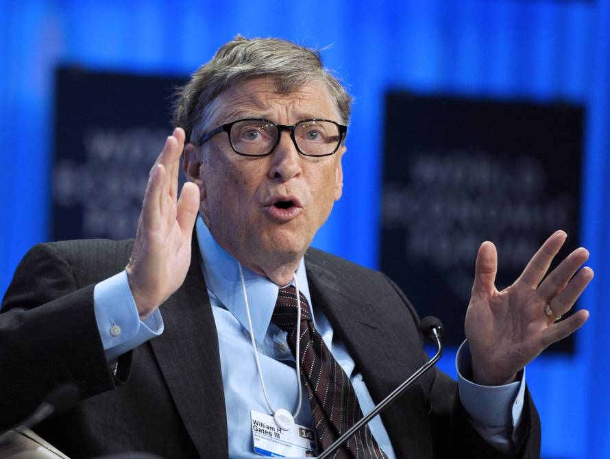 I don't think rockets are the answer, Bill Gates isn't as interested in Mars as Elon Musk |  International |  News