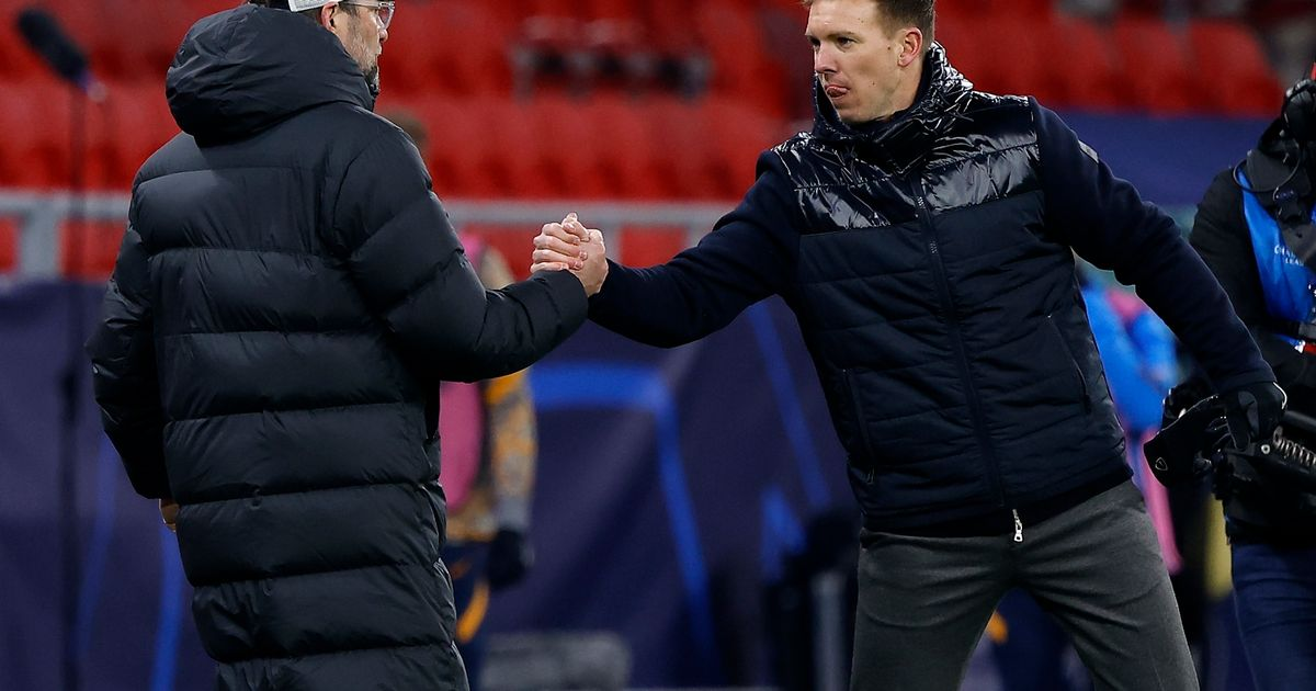 Julian Nagelsmann sends a warning to Liverpool after Leipzig's Champions League defeat