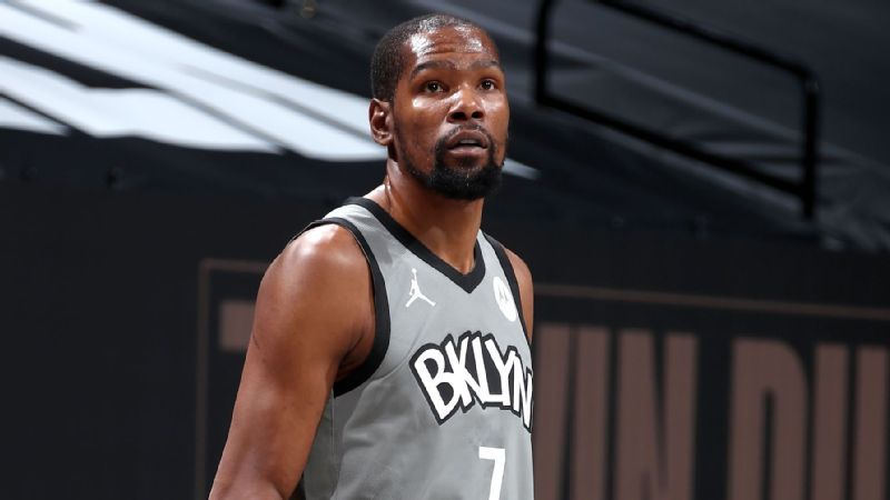 Kevin Durant dropped out of the Brooklyn Nets until after the All-Star Game