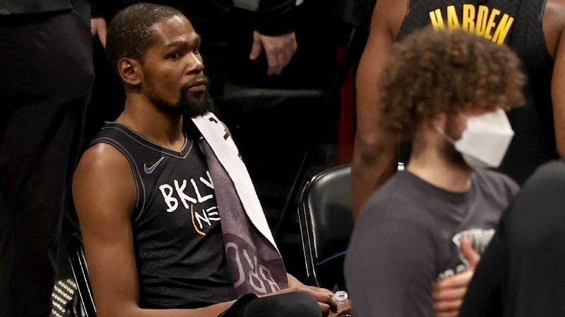 Kevin Durant not traveling with Brooklyn Nets, will miss many games due to contact tracing protocols