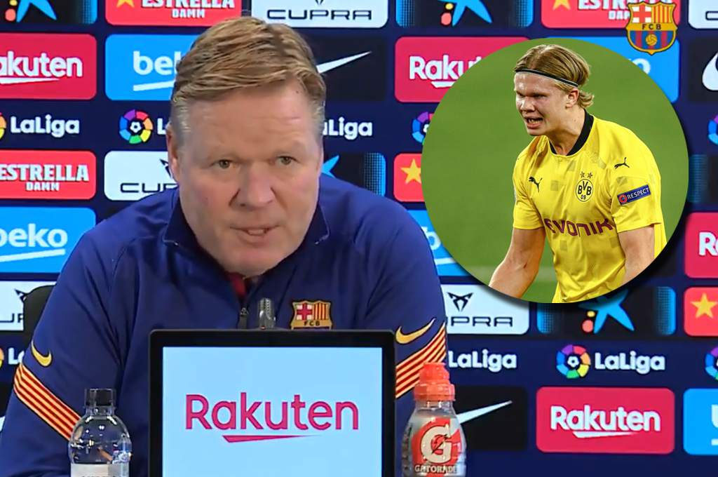 Koeman warns Paris Saint-Germain and his strong response to Haaland in Barcelona – TN
