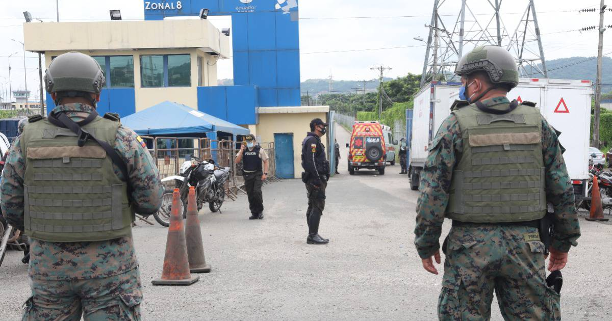 More than 200 inmates were transferred after the massacres in the prisons of Latacunga, Guayaquil and Cuenca |  Security |  News