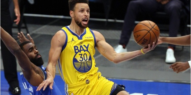 NBA |  Stephen Curry's video insults Luca Dunsic: Warriors beat the Mavericks