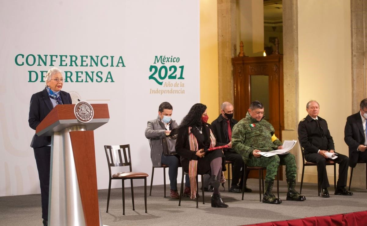 Olga Sanchez.  I have no expectations of reaching the presidency of Mexico