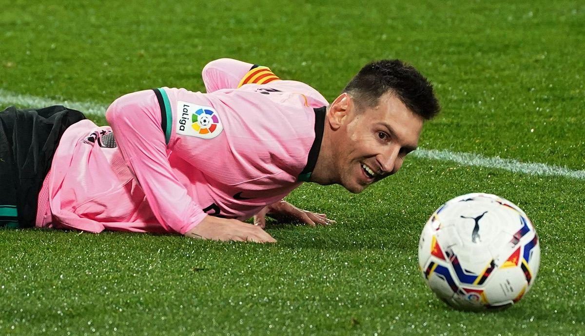 Only Suarez beats Messi