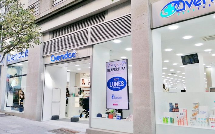 Perfumeras Avenida in Santiago de Cosombostela opens the largest commercial space in its network