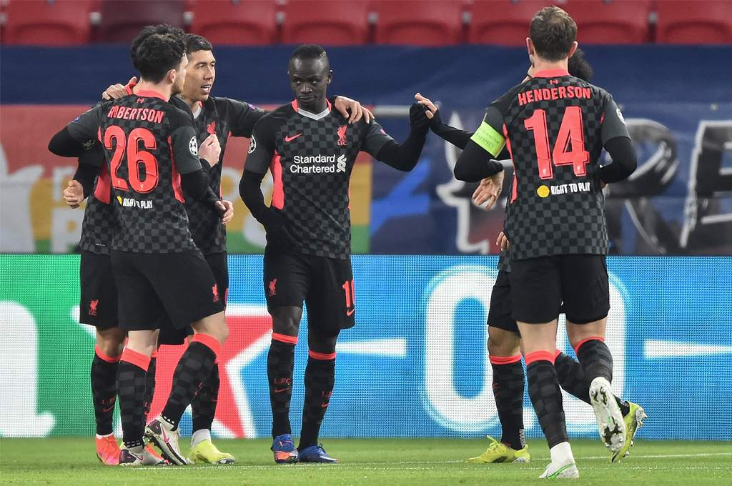 R.P. who visited Liverpool.  Leipzig were punished and set foot in the Champions League quarterfinals!  – Ten