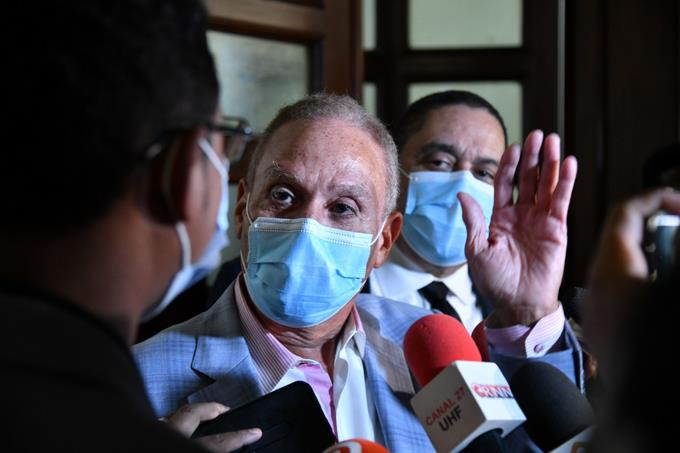 Rondon says he is convinced that the Odebrecht file has been prepared at the National Palace