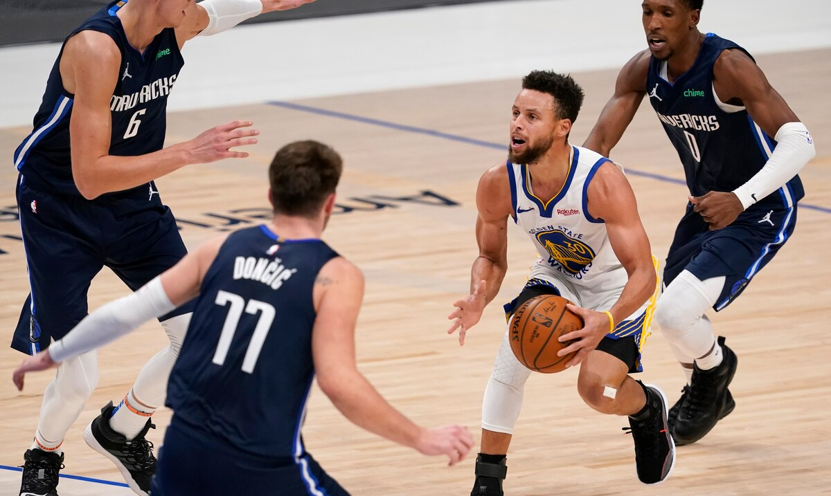 Stephen Curry had 57 points, but was overtaken by Golden State's Luca Tansik and Maws.