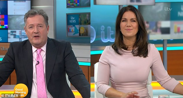 After the Last Laughter: Susanna Reed mocked a troll who tried to insult her and her Good Morning Britain co-host on Twitter.