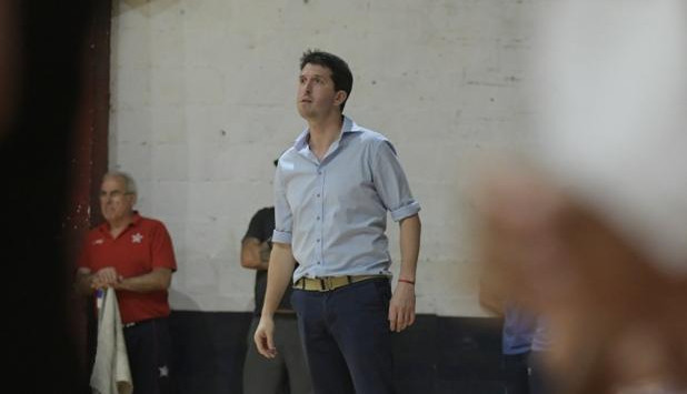 Leonardo Zilpersstein, coach of Nacional.  Photo: El País Archive.