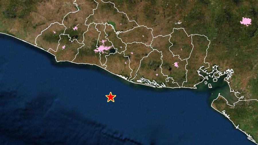 Two powerful earthquakes have hit El Salvador in the past six hours  News from El Salvador