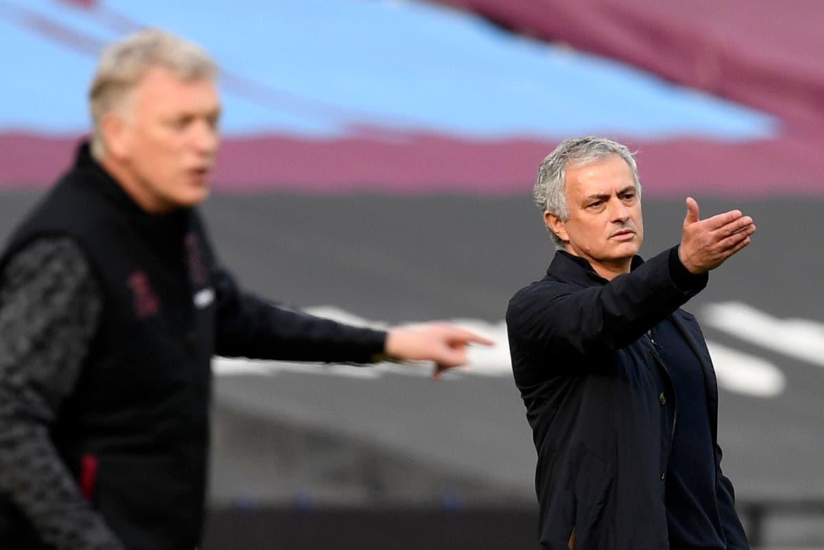 "West Ham 2-1 Tottenham: Is Jose Mourinho still the best in the world?  Fellow ""dinosaur"" David Moyes struck him"