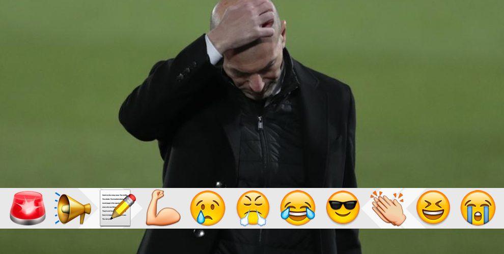 Real Madrid vs Real Sociedad: This setback is Zidane's fault