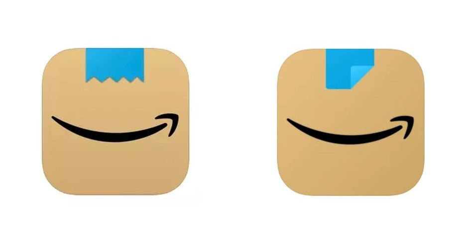 Amazon changes its app logo after the comparison with Hitler