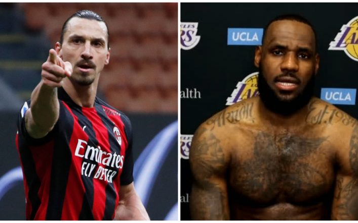 Serie A: Sladen Ibrahimovic attacks LeBron James