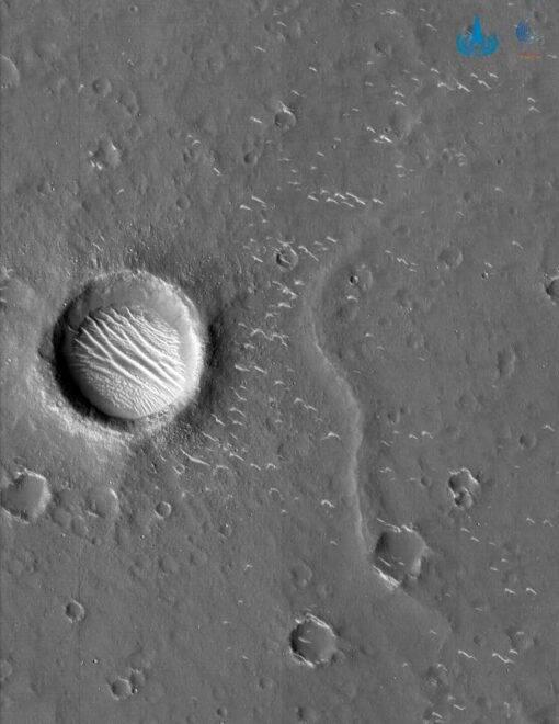 Chinese image of Mars.