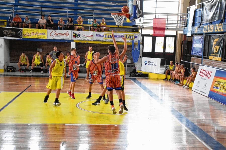 Alto Valley is the first place in the country where basketball training returns