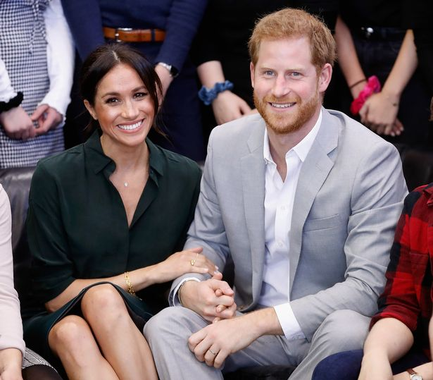 Megan, Duchess of Sussex, and Prince Harry, Duke of Sussex