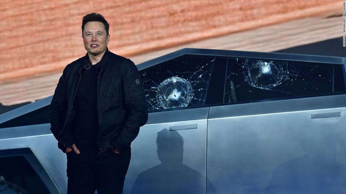 Elon Musk says Tesla will introduce the updated Cybertruck