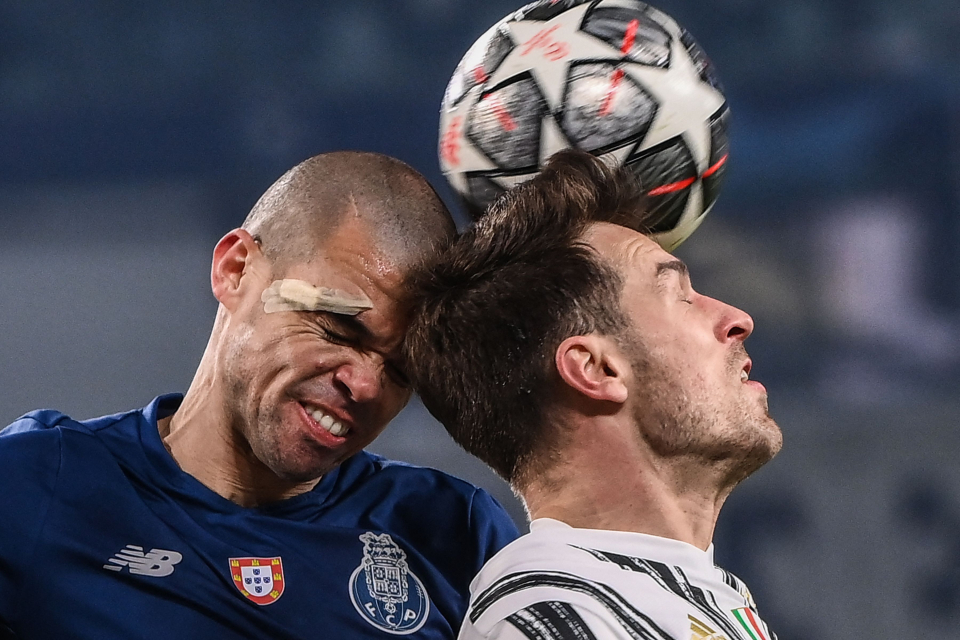 The 38-year-old Bibi stood firm to help Porto send off Juventus