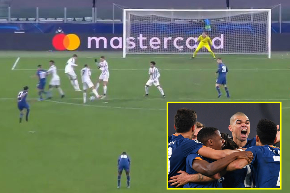 Blame Cristiano Ronaldo for rolling back a free kick and Andrea Pirlo will be 'furious' as the ten-man Porto Juventus out of the Champions League
