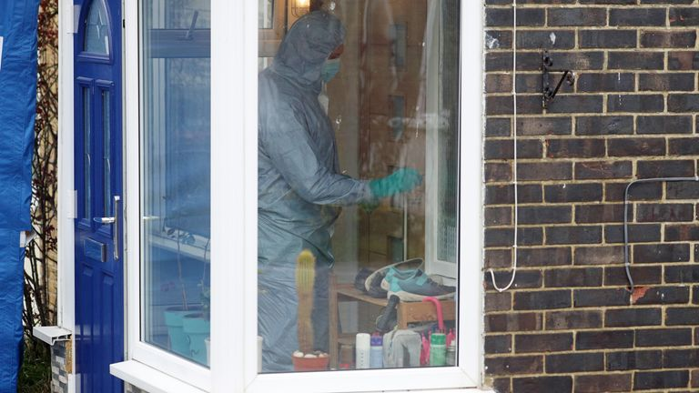 Forensic officer in-house in Freemens Way in Deal, Kent