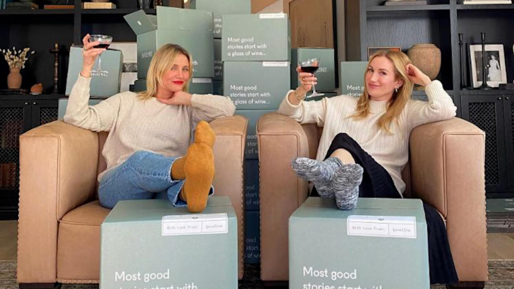 Cameron Diaz is taking advantage of the epidemic with online sales