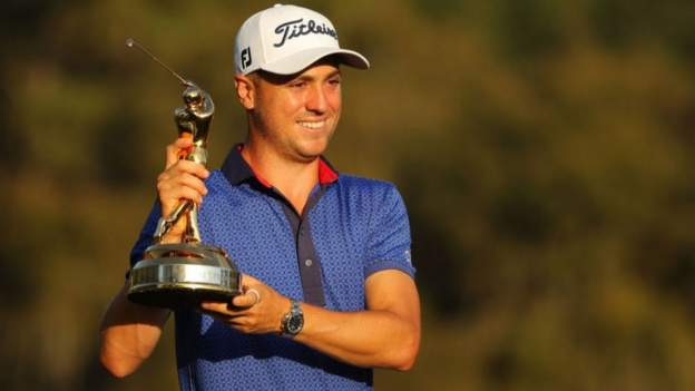 Players' Championship: Justin Thomas beats Lee Westwood to victory