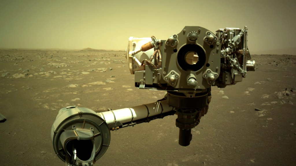 The Perseverance probe sends out sounds from Mars