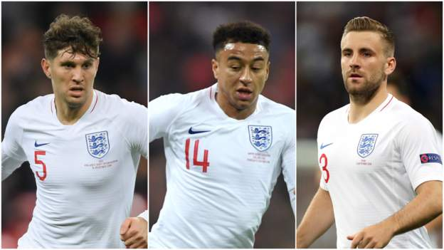 Jesse Lingard, Luke Shaw and John Stones are back in the England national team